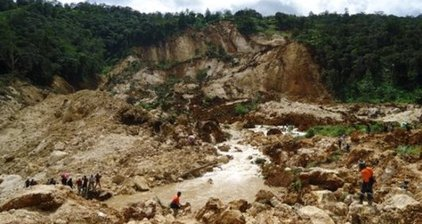 Deadly landslide buries dozens in Papua New Guinea