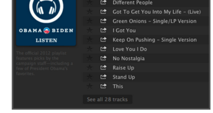 President 'Hip to the Groove' Obama joins Spotify
