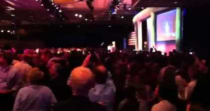 Palin hecklers shouted down by supporters at CPAC