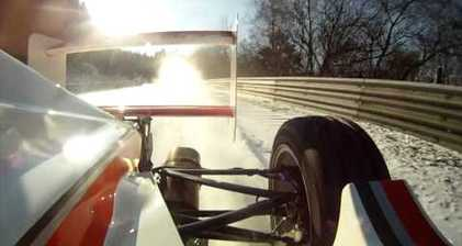 Racing on ice