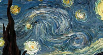 Van Gogh's Starry Night: An interactive experience