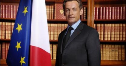 @NicolasSarkozy takes re