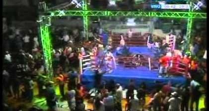 Argentina boxer banned for life after riot