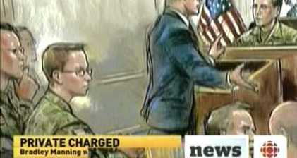 Bradley Manning enters no plea at court martial hearing