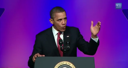 Obama vows to buy Chevy Volt in fiery UAW speech