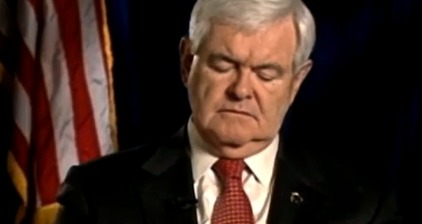 Gingrich 'nods off' during AIPAC conference