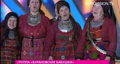 Russian grannies head for Eurovision
