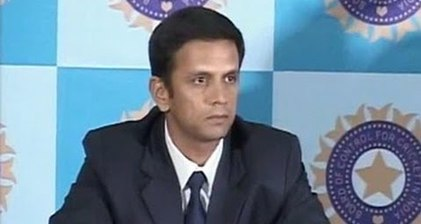 Dravid bids emotional farewell