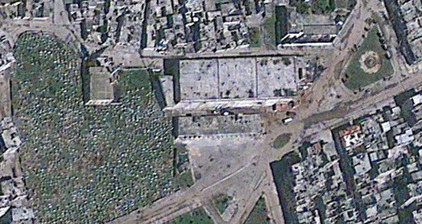 Baba Amr's before & after shown in new satellite images