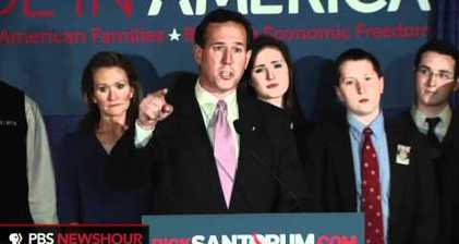 Santorum pulls off southern sweep
