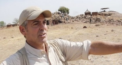 Clooney's Sudan mission gets mixed reviews