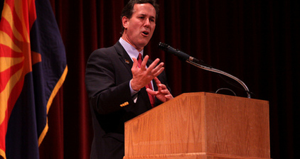 Santorum riles Puerto Ricans with comments about speaking English