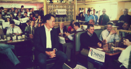 Romney's 'body man' blogs from the campaign trail