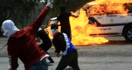 Bahrain youths clash with riot police in Al-Dair