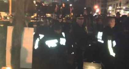 Dozens arrested as NYPD clears Occupy protest
