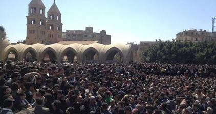 Coptic Christians mourn loss of Pope Shenouda III
