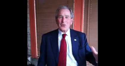 Bush gives blessing to Syrian 'freedom lovers'