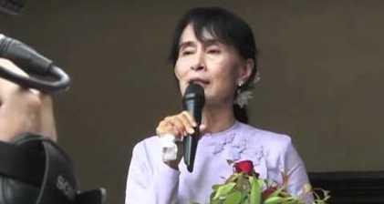 Suu Kyi looks to