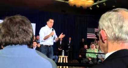 Romney aims for triple state wipeout in GOP presidential race