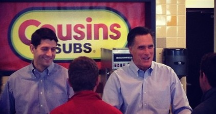 Democrats accuse Romney of offering 'subs for votes'