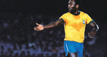Brazilian soccer legend @Pele takes to Twitter