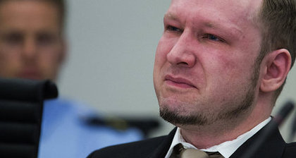 Breivik sheds tears at viewing of own propaganda video