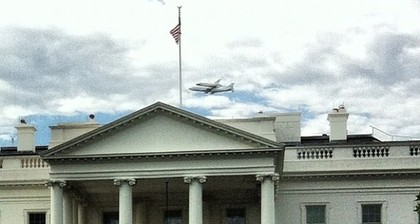 Americans #SpotTheShuttle as Discovery makes final journey