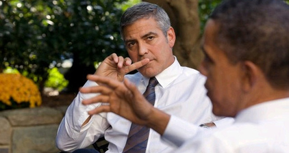 George Clooney and Ann Romney go head-to-head with fundraising dinners