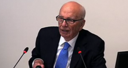 LIVE: Rupert Murdoch at Leveson inquiry