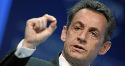 Sarkozy threatens to sue over Gadhafi campaign funding claims
