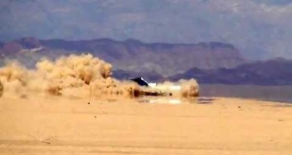 Film crew crashes plane into remote Mexican desert