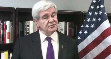 Gingrich says goodbye to 2012 campaign