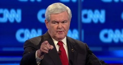 Top ten video moments from the Gingrich campaign