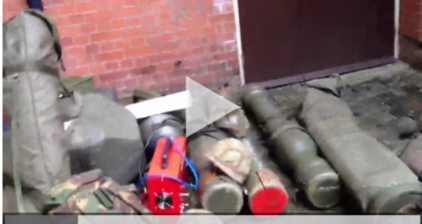 Journalist finds 'unguarded rockets' outside London home