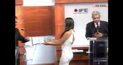 Mexico Playboy model becomes debate talking point