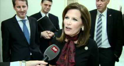 Michele Bachmann becomes a Swiss citizen