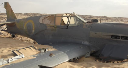 Lost WW 2 aircraft found in Western Desert