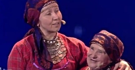 Eurovision's Russian grannies take Twitter by storm