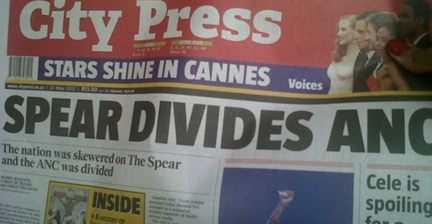 ANC call to boycott Sunday paper over Zuma painting backfires