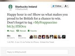 Starbucks gets an Irish roasting after Twitter fail