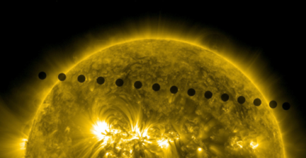 Eyes of the world on the #VenusTransit