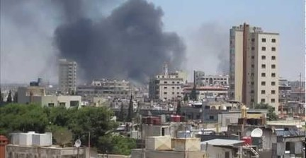 VIDEO: UN observers film shelling of Homs