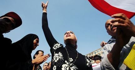 Egyptians stand against sexual harassment in online campaign