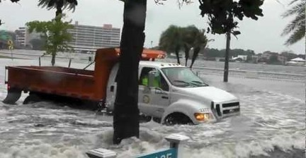 VIDEO: Tropical Storm Debby runs amok in Florida