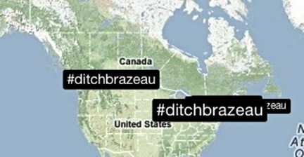 The senator versus the journalist: #ditchbrazeau trends in Canada