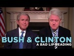 VIDEO: Bush and Clinton get the 'Bad Lip Reading' treatment