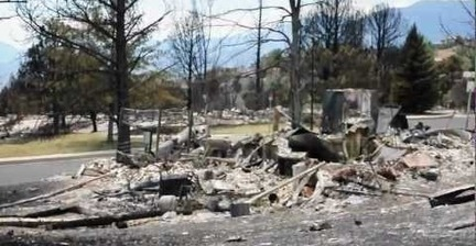 VIDEO: Homes destroyed by Waldo Canyon fire