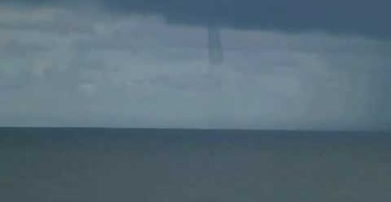 VIDEO: Waterspout spotted off Florida