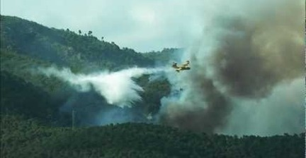 VIDEO: Fire in Mallorca