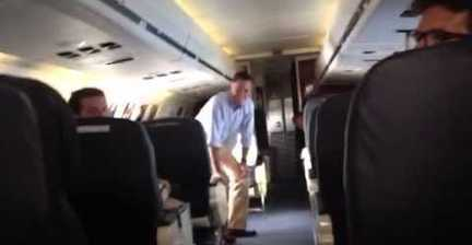 An unusual Q&A on the Romney plane